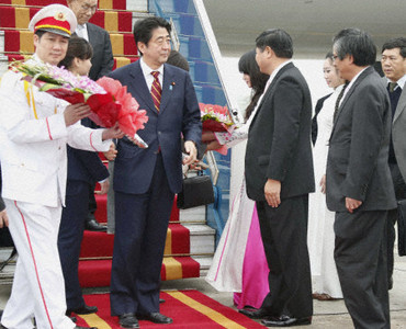 PM Abe in Vietnam