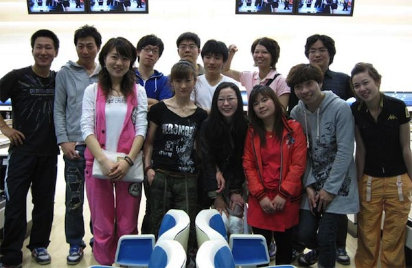 Shin-Osaka Foreign Language Institute students