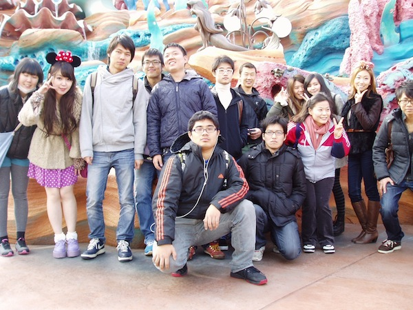Tamagawa-International-Language-School-students
