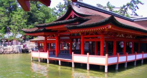The Shrine of Itsukushima